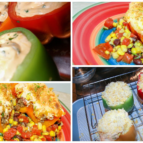 Cream Cheese Divers and Southwestern Corn Salad