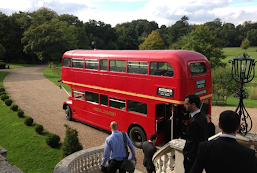 A lovely classic Routemaster Wedding Bus