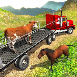 Offroad Farm Animal Truck Driving Game 2018 For PC / Windows 7/8/10 / Mac – Free Download