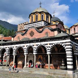 Rila Monastery by Tomasz Budziak - Buildings & Architecture Public & Historical ( bulgaria, churches, orthodox, architecture )