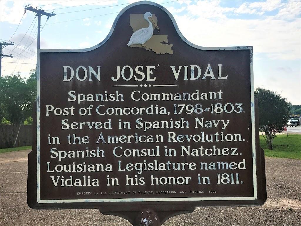 Spanish Commandant Post of Concordia, 1798-1803. Served in Spanish Navy in the American Revolution. Spanish Consul in Natchez. Louisiana Legislature named Vidalia in his honor in 1811.