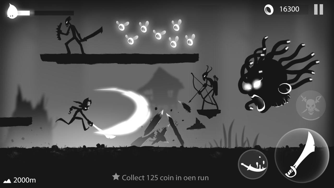 Stickman Run: Shadow Adventure Screenshot 3