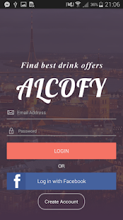 Alcofy - best drink offers - screenshot