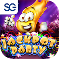 Jackpot Party Casino Slots 777 APK for Bluestacks