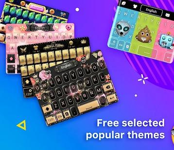 Emoji Keyboard-Cool Keyboard, Emoticon, GIFs