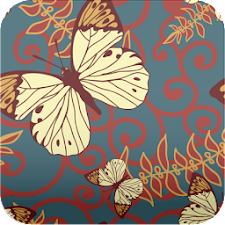 butterfly pattern wallpaper229