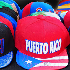 Caps by Dennis Rubin - City,  Street & Park  Street Scenes ( puerto rico, caps, nc, 2016-07-23, festival, july, charlotte,  )