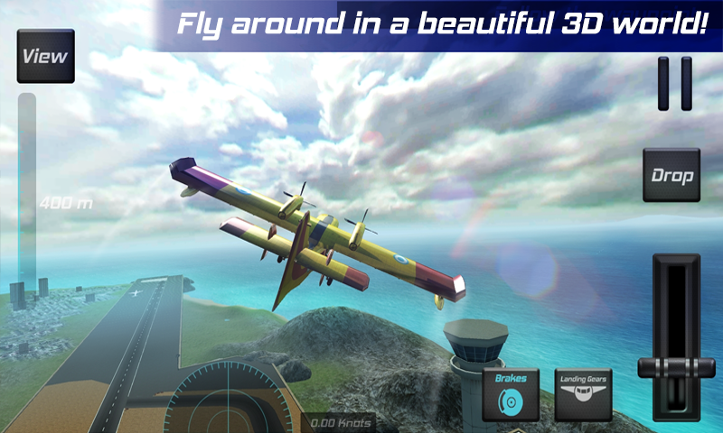 Real Pilot Flight Simulator 3D Screenshot