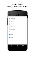 Screenshot of InstaSize