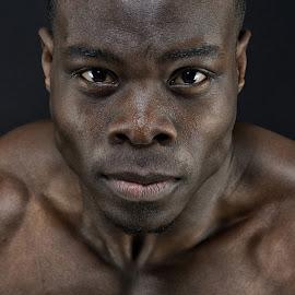 The Power by Joe Ehlen - People Portraits of Men ( dynamic, lighting, portrait, man, eyes )