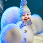 Snowman Frame Live Wallpaper Icon