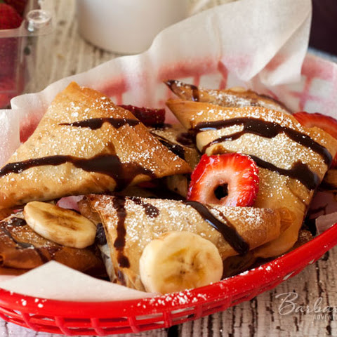 Baked Nutella Turnovers
