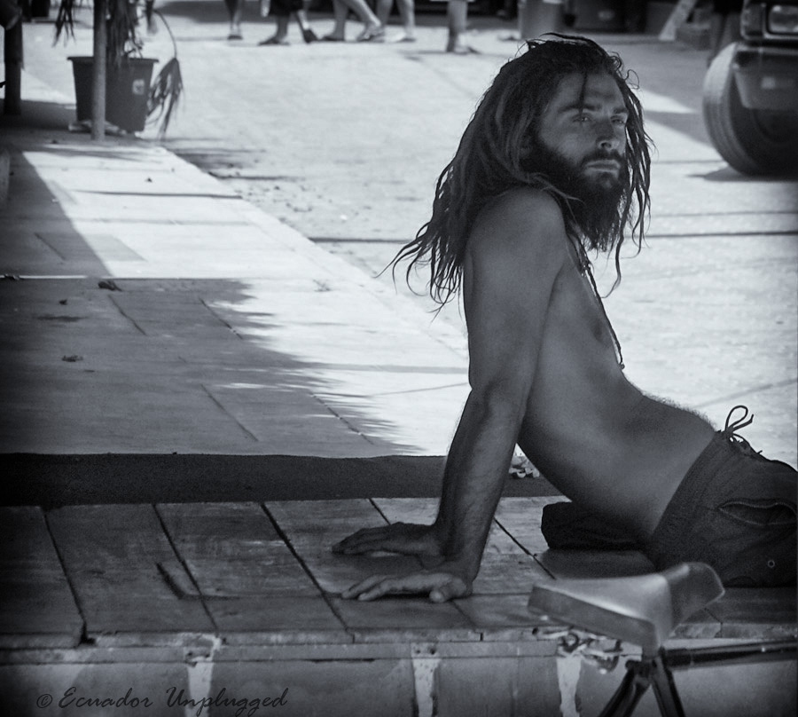 Dreds by Adrian Stone - People Portraits of Men ( montañita, ecuador, surfing, pwcprofiles )