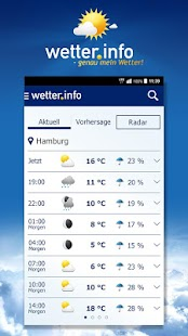wetter.info screenshot for Android