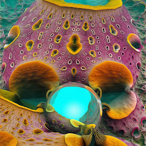 MB3D - 659 by Siniša Dalenjak - Illustration Abstract & Patterns ( mandelbulb, 3d, fractal )