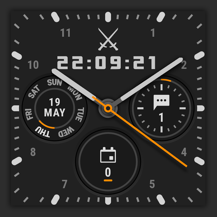 ? Ksana Sweep Watch Face for Android Wear Screenshot 2