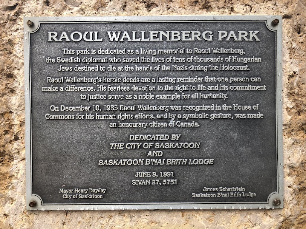 RAOUL WALLENBERG PARKThis park is dedicated as a living memorial to Raoul Wallenberg,the Swedish diplomat who save the lives of tens of thousands of HungarianJews destined to die at the hands of the ...