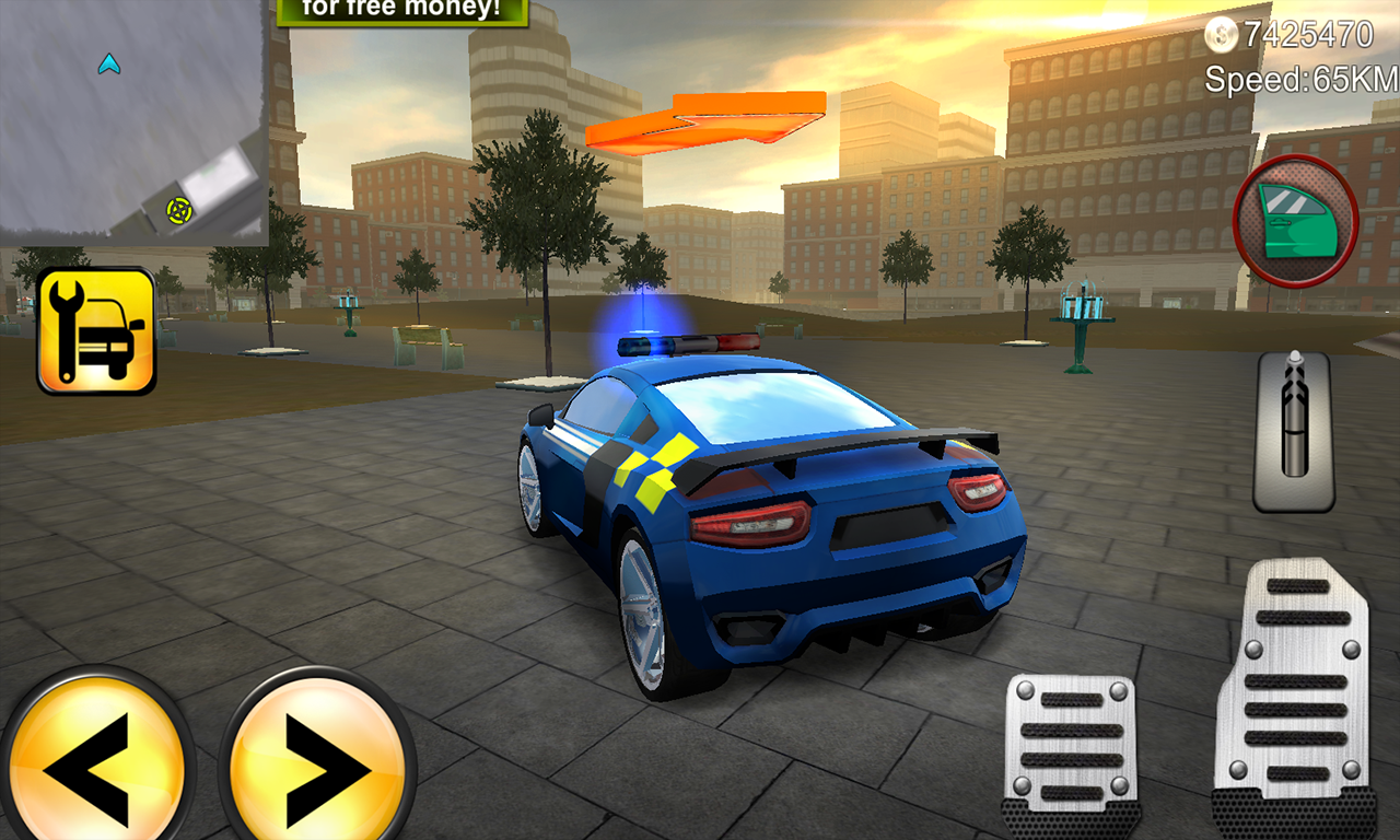 Police Agent vs Mafia Driver Screenshot 0
