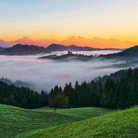 St.Tomaz by Stane Gortnar - Landscapes Mountains & Hills