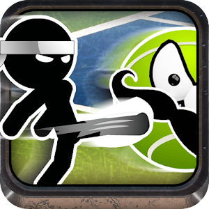Stickman Run Tennis