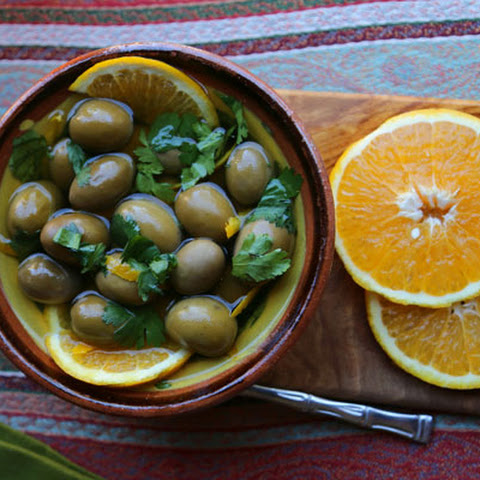 Spicy Citrus Infused Olives