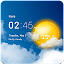 App Transparent clock & weather 0.99.02.48 APK for iPhone
