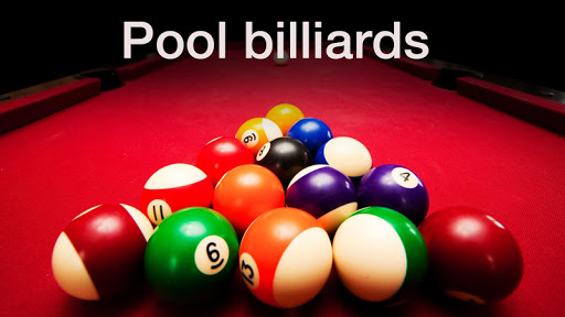 Billiards - Eight balls