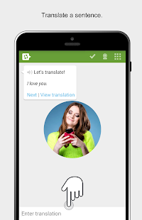 Learn English by Translating - screenshot