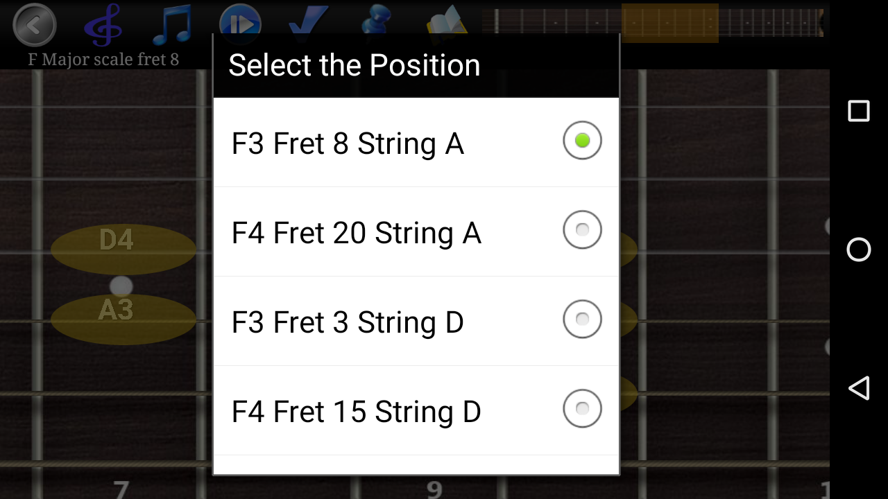 Guitar Scales & Chords Pro Screenshot 4