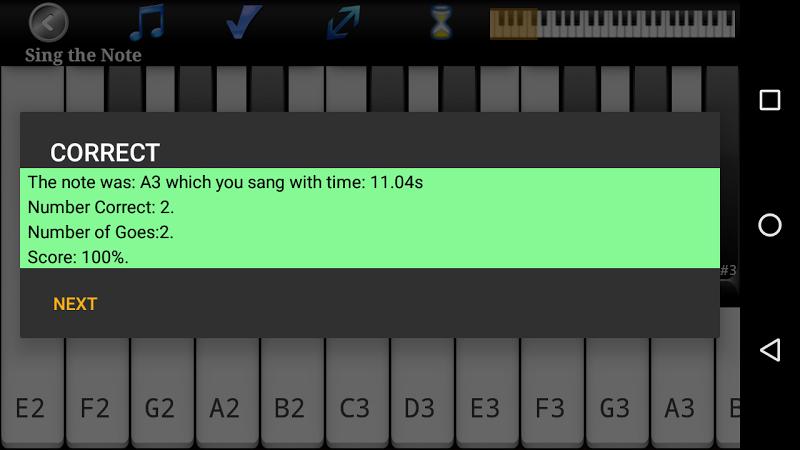 Voice Training Pro Screenshot 2