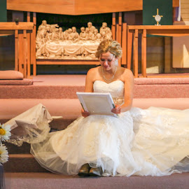 Private Moment by Kathy Suttles - Wedding Bride