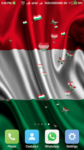Hungary Flag Wallpapers Live - screenshot