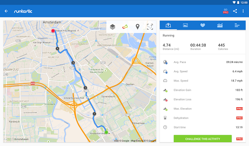 Runtastic Running & Fitness Tracker screenshot 9