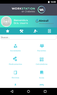 Workstation Diabetes Almirall - screenshot