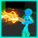 Stickman Neon Gun Warriors Icon