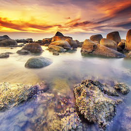 Rocks beach by Dany Fachry - Landscapes Beaches