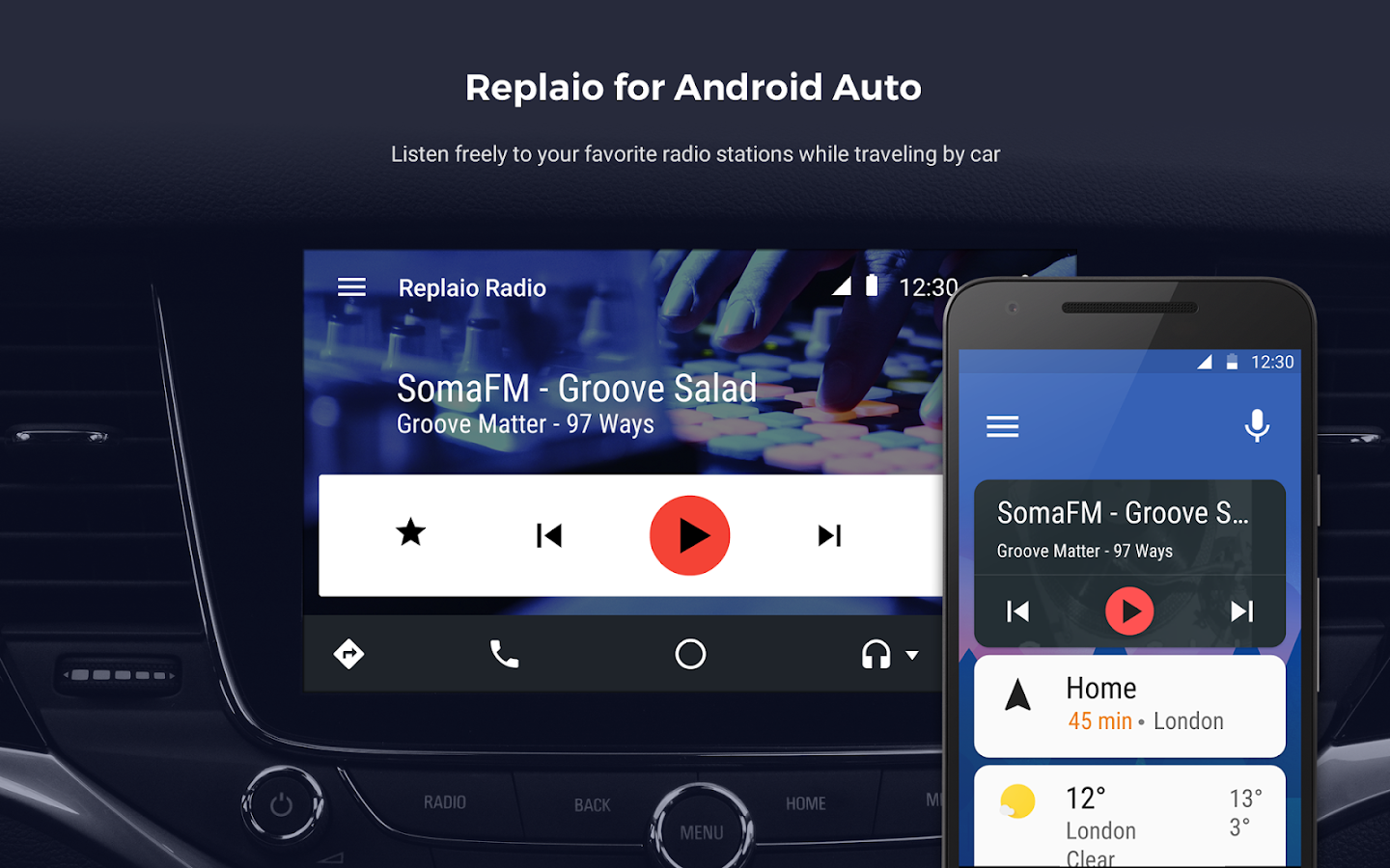 Replaio Radio - Music & Info Screenshot 7