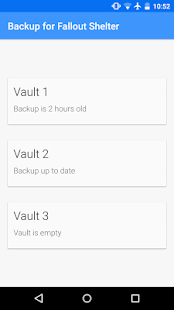 Free Backup for Fallout Shelter APK for Windows 8