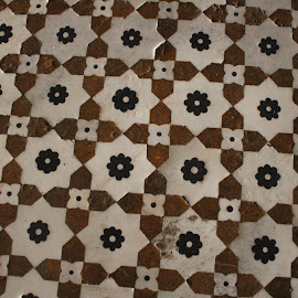 Jahangir's Tomb Flooring by Gee Emm - Abstract Patterns ( pakistan, lahore, jahangir's tomb )