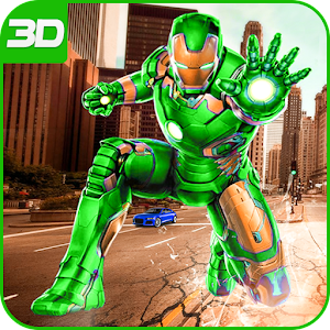 Download Super Robo City Hero: Rescue People For PC Windows and Mac