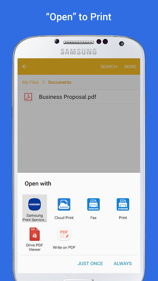 Samsung Print Service Plugin Screenshot 3