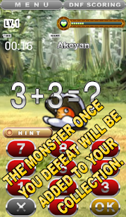 ADDITION SUBTRACTION BATTLE - screenshot