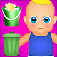 house cleaning and baby care game