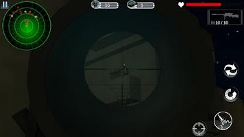 Screenshot of Urban Commando Shooting 3D