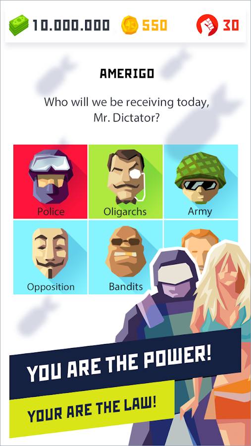 Dictator 2: Evolution Screenshot 1