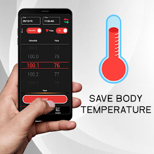 Body Temperature : Thermometer Fever History Diary for pc