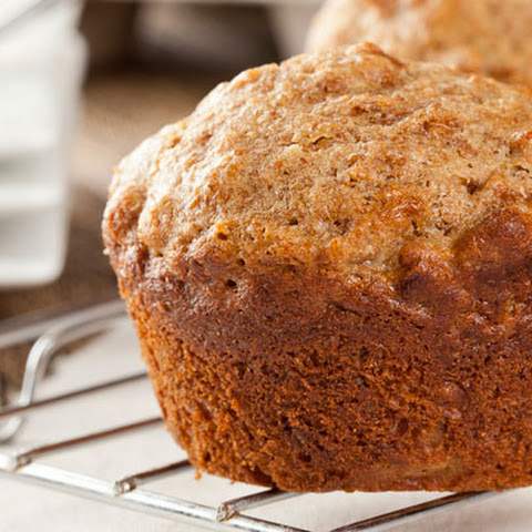 Flaxseed Apple Raisin Muffins