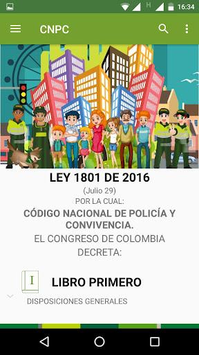 Código Nacional de Policía y Convivencia screenshot 2