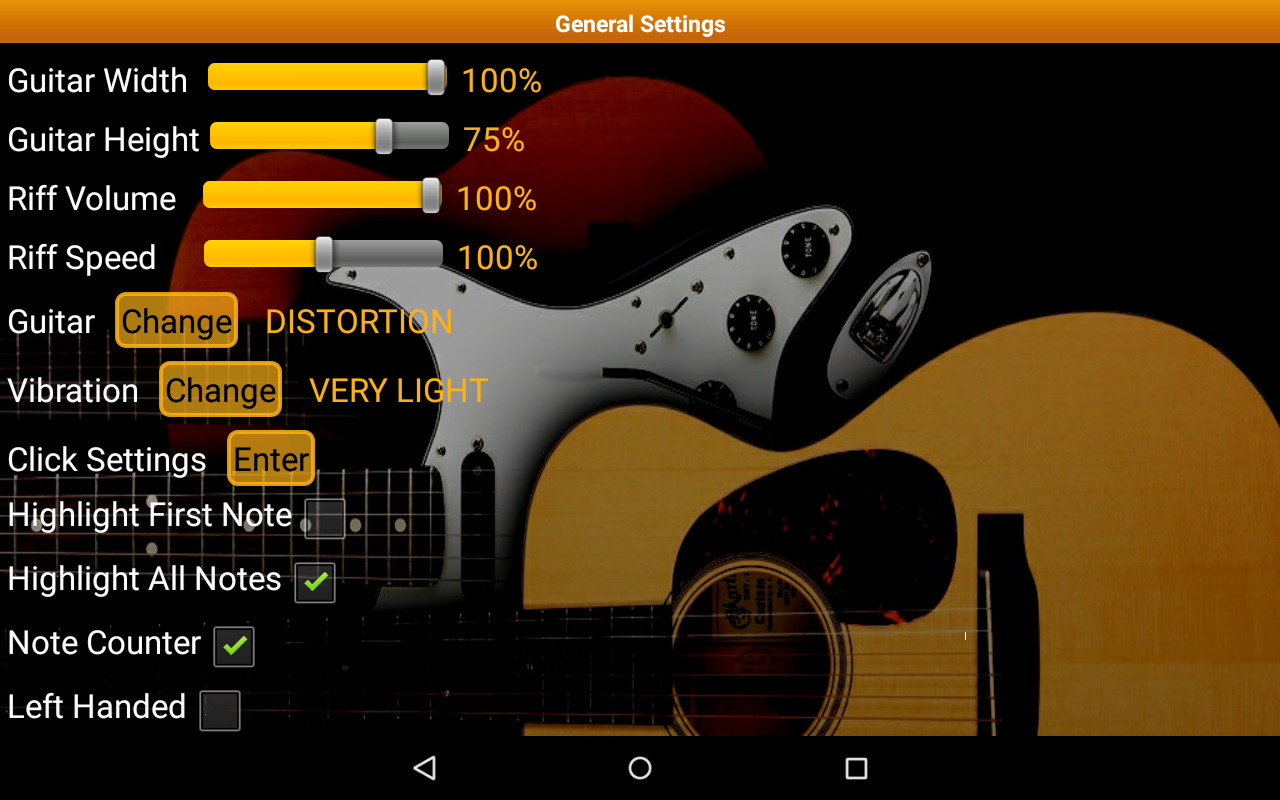 Guitar Tutor Pro - Learn Songs Screenshot 14
