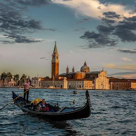 San Marco by Aamir DreamPix - Buildings & Architecture Public & Historical ( gondola, europe, riverside, san marco, rivers, italy, river )